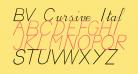 BV Cursive Ital Italic