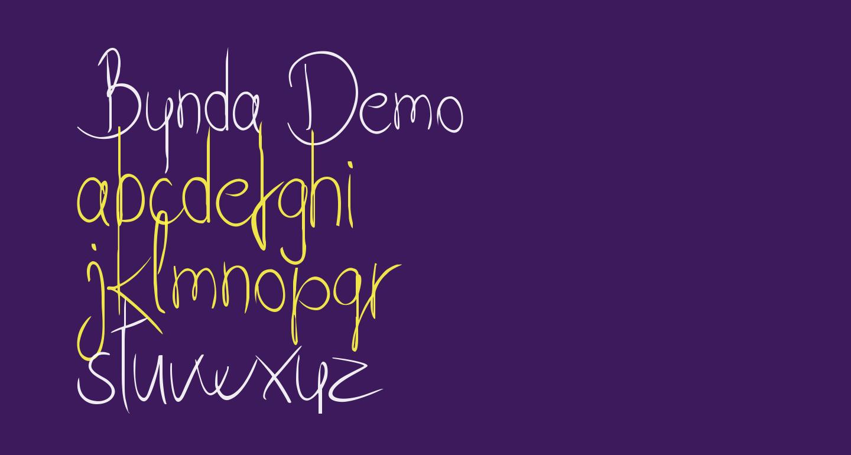 Bynda Demo