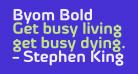 Byom Bold