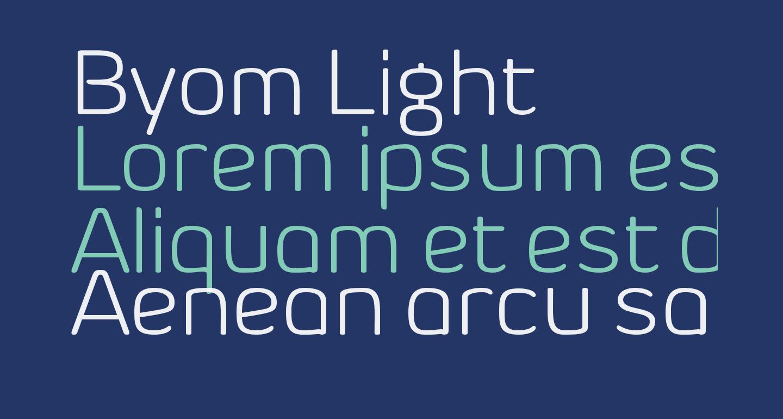 Byom Light