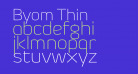 Byom Thin