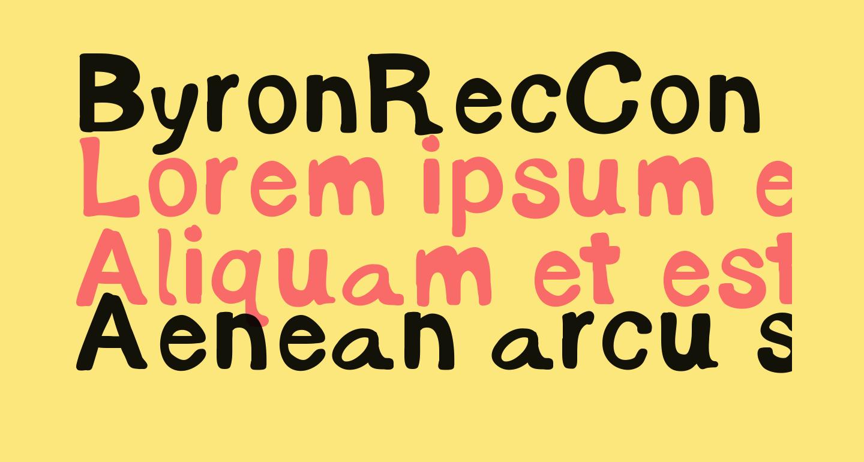 ByronRecCon