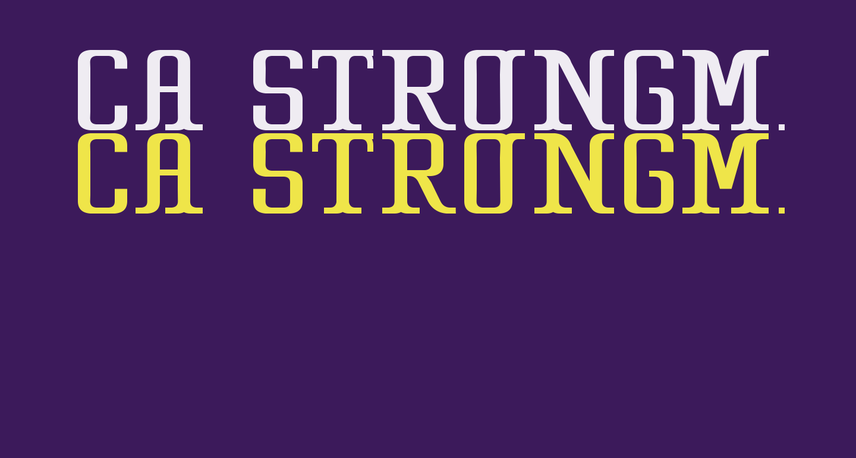 CA Strongman