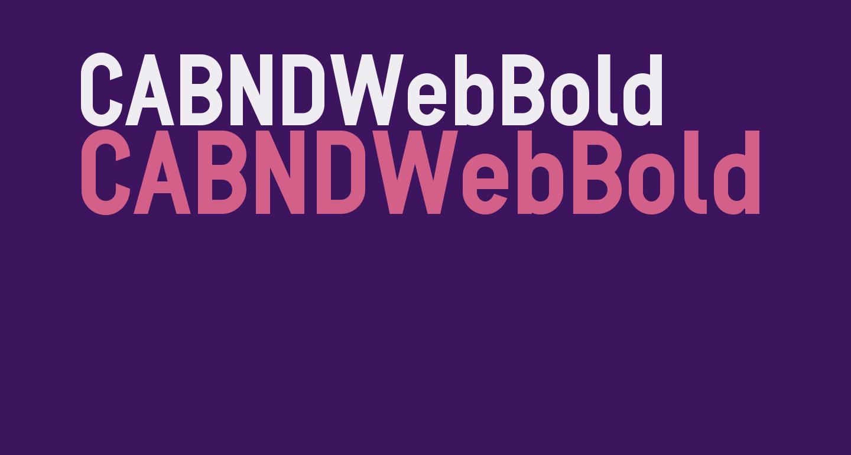 CABNDWebBold