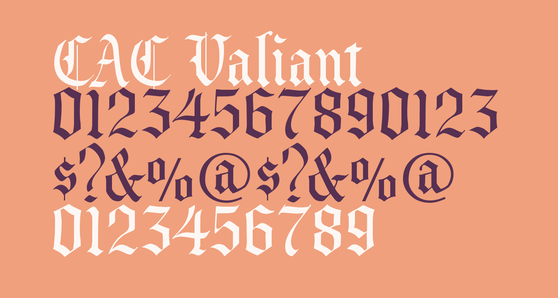 CAC Valiant