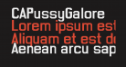 CAPussyGalore