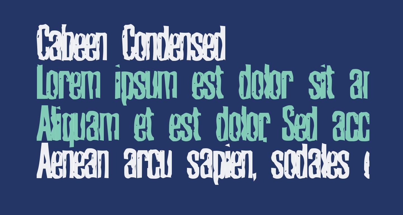 Cabeen Condensed