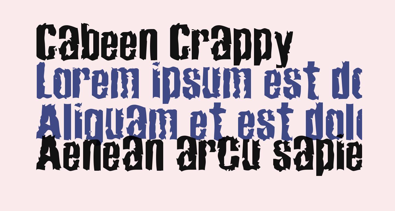 Cabeen Crappy