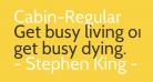 Cabin-Regular