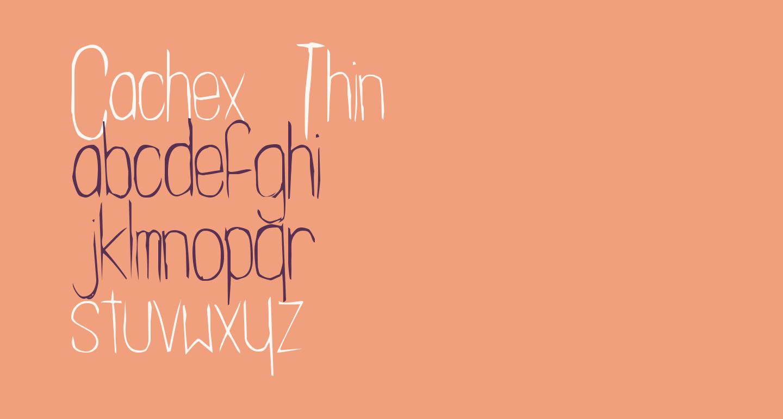 Cachex Thin