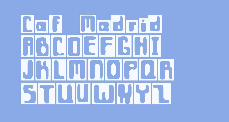 Caf? Madrid