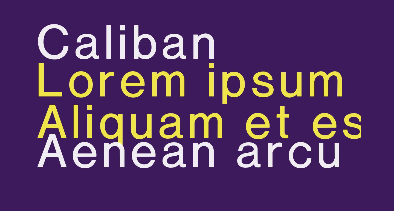Caliban