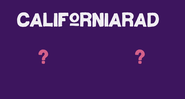 CaliforniaRad-Regular