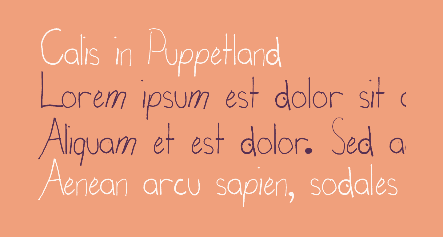 Calis in Puppetland
