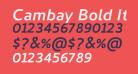 Cambay Bold Italic