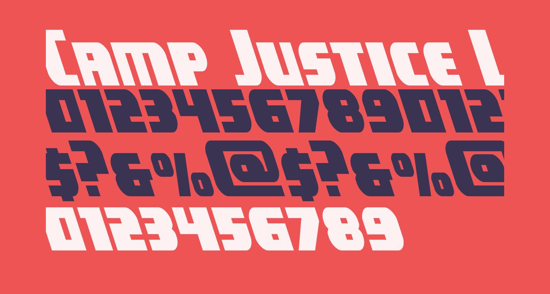 Camp Justice Leftalic