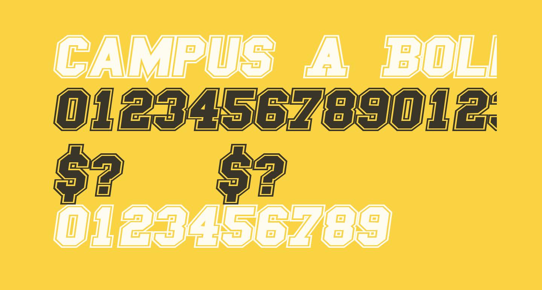 Campus A Bold