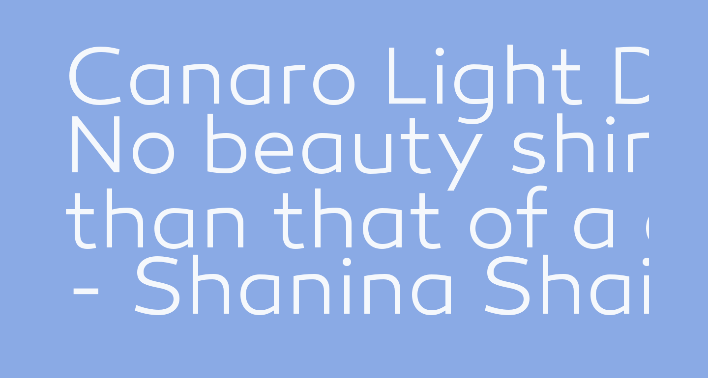 Canaro Light DEMO