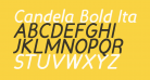 Candela Bold Italic