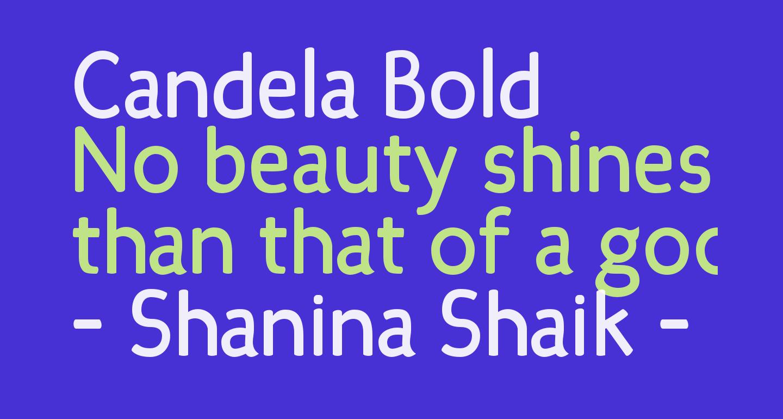 Candela Bold