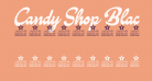 Candy Shop Black Personal Use