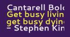 Cantarell Bold