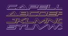 Capella 3D Italic