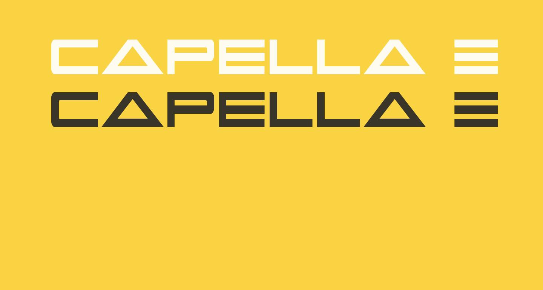 Capella Extra-condensed