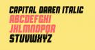 Capital Daren Italic