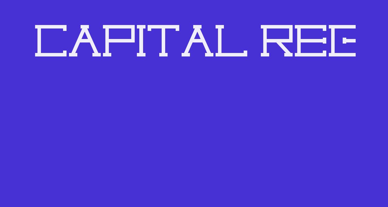 Capital regular