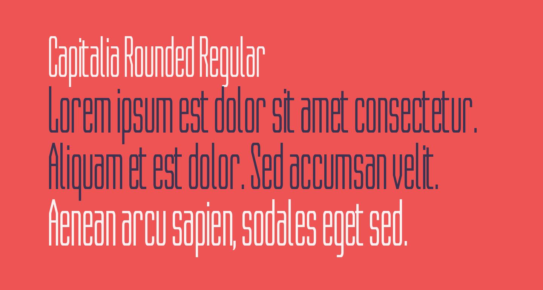 Capitalia Rounded Regular