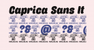 Caprica Sans It Personal Use