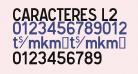Caracteres L2