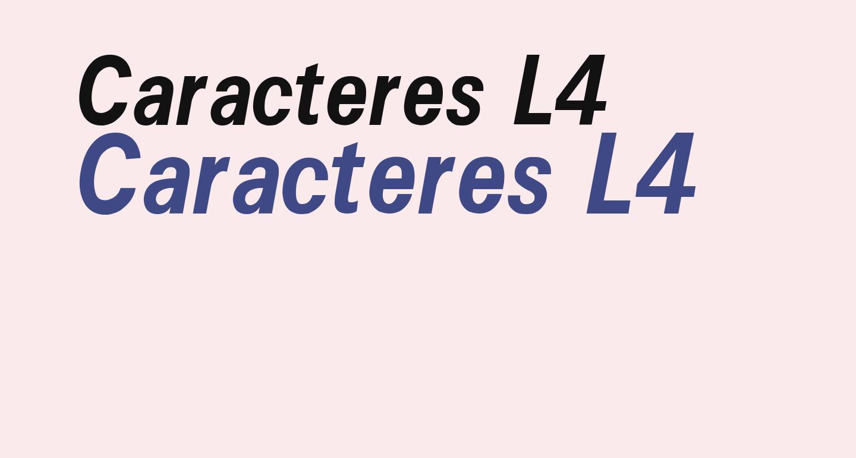 Caracteres L4