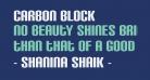 Carbon Block
