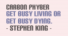 Carbon Phyber