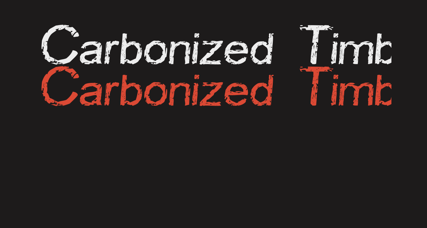 Carbonized Timber