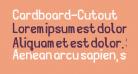 Cardboard-Cutout