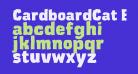 CardboardCat Extra Bold