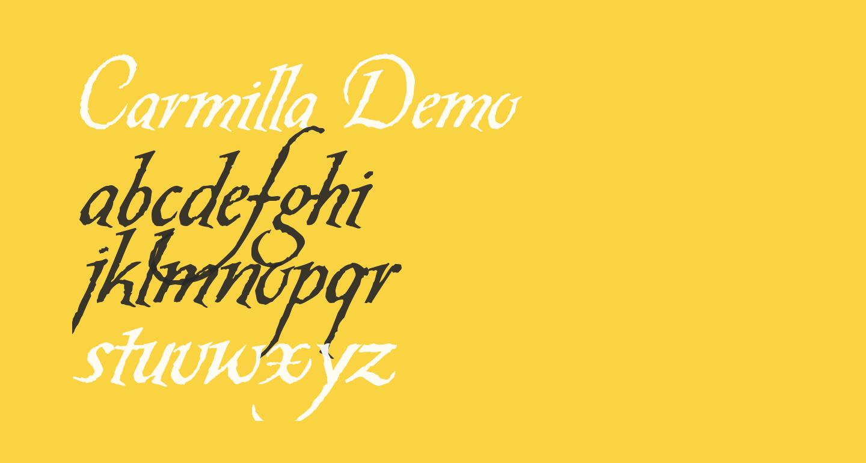 Carmilla Demo