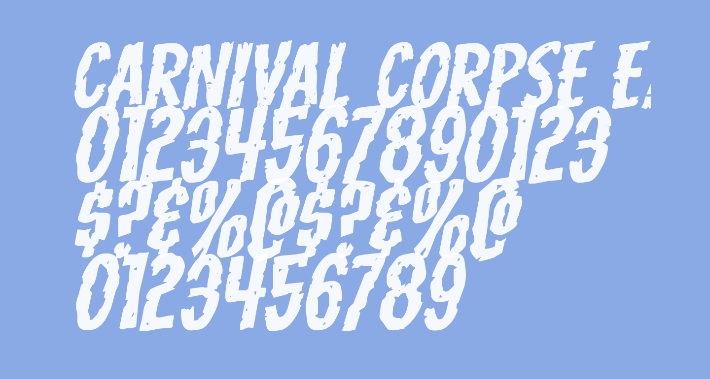 Carnival Corpse Expanded Rotalic