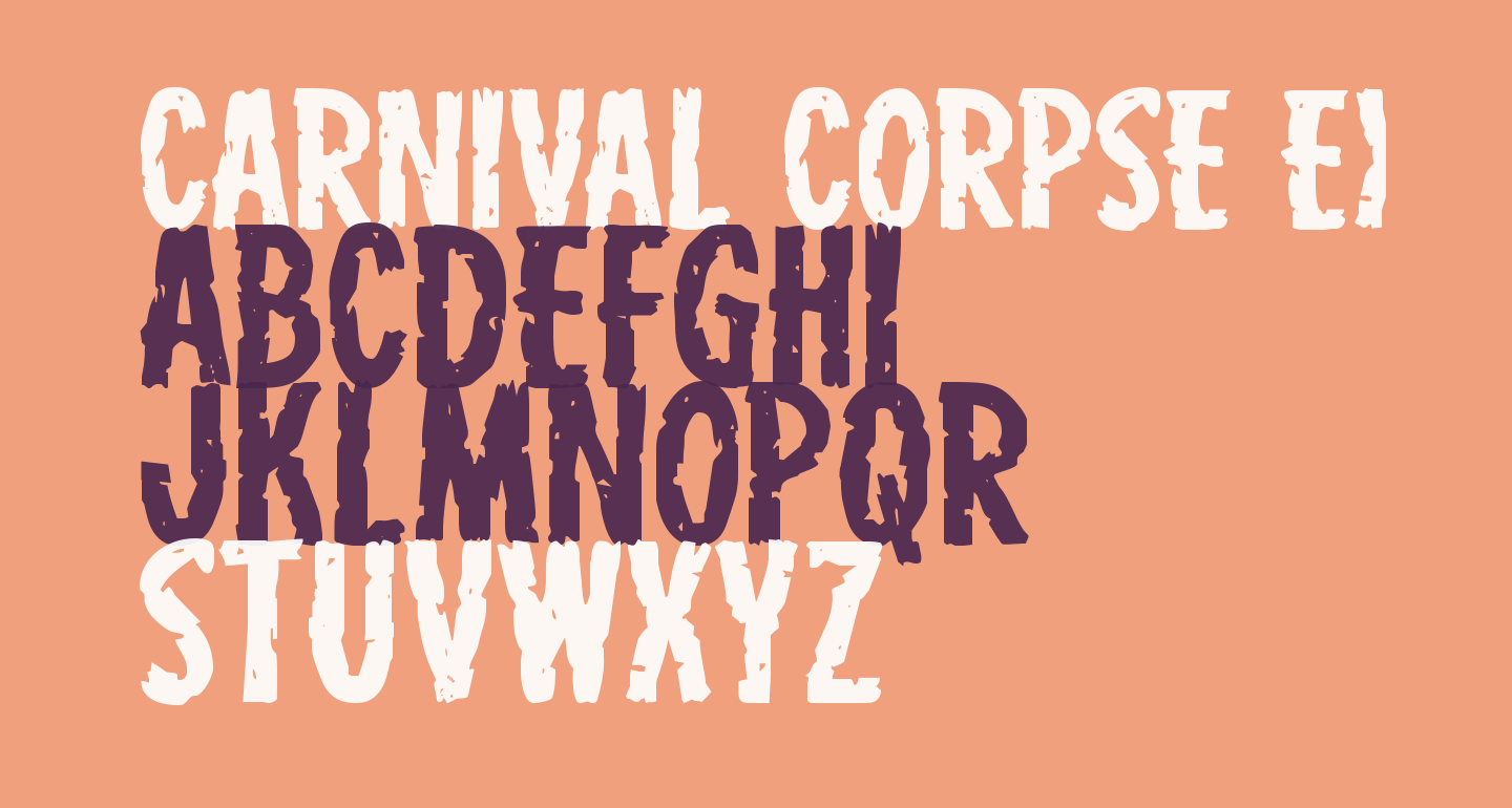 Carnival Corpse Expanded