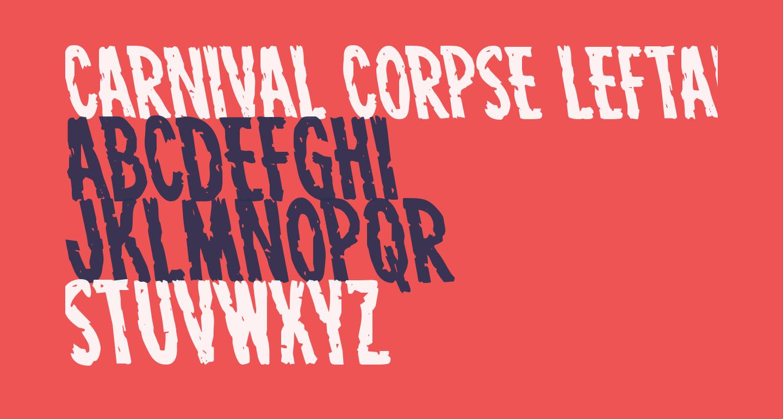 Carnival Corpse Leftalic