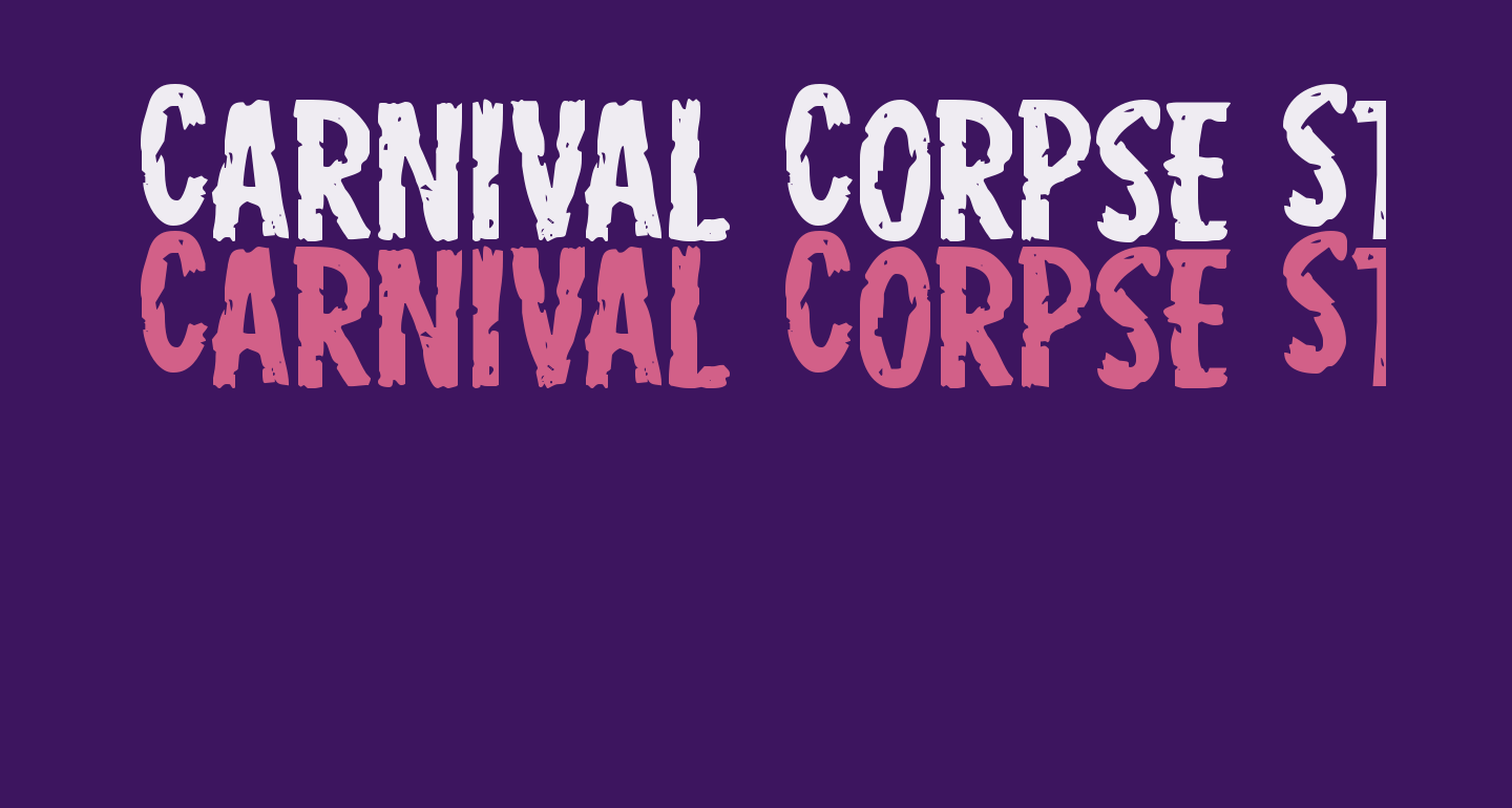 Carnival Corpse Staggered Expanded