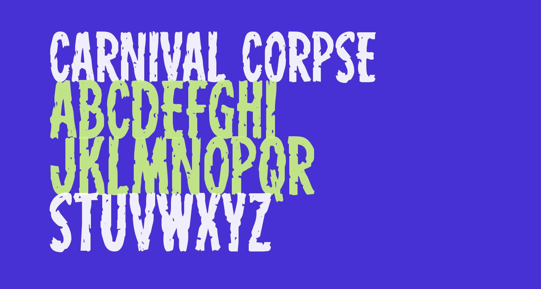Carnival Corpse