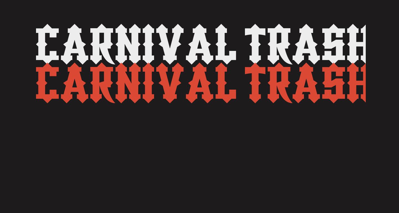 Carnival Trash