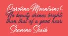 Carolina Mountains Personal Use