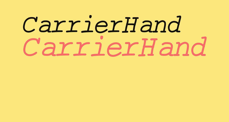 CarrierHand