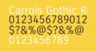 Carrois Gothic Regular
