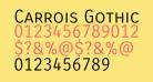 Carrois Gothic SC